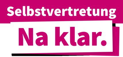 "Kampagne ""Selbst-Vertretung - na klar"" (Bild: Lebenshilfe)"