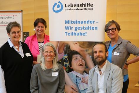 In Präsenz (v. l.): Hildegard Metzger, Martina Neumeyer, Barbara Dengler, Markus Bauer und Bettina Wagner. (Foto: LHB - Anke Dyhringer)