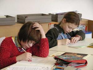 Gemeinsam die Schulbank zu drücken verbindet und fördert das Miteinander (Foto: Lebenshilfe Fürth)